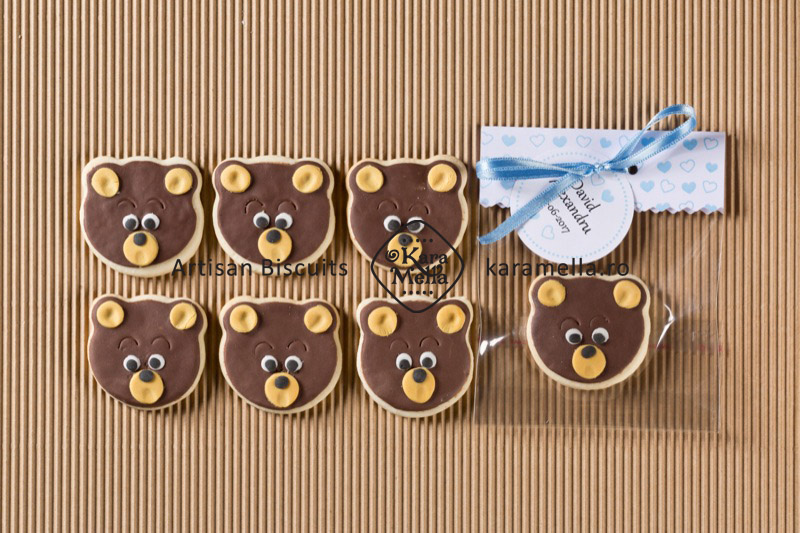 Biscuiți decorați ursuleți