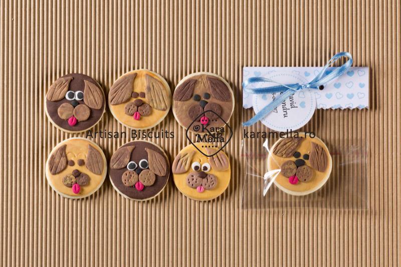 Biscuiți decorați cațeluși